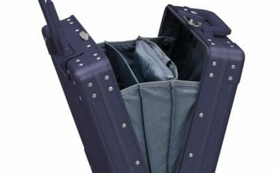 Aluminum 16 Inch Carry-On Luggage With Wheels
