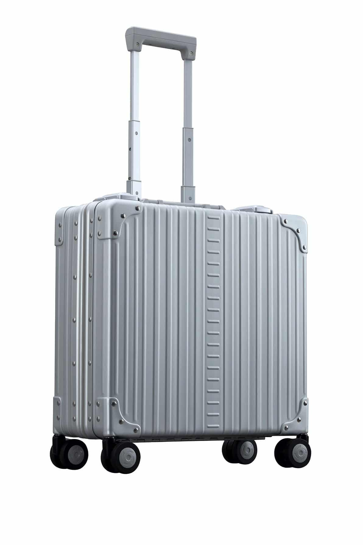 Wheeled Business Case briefcase made with aluminum