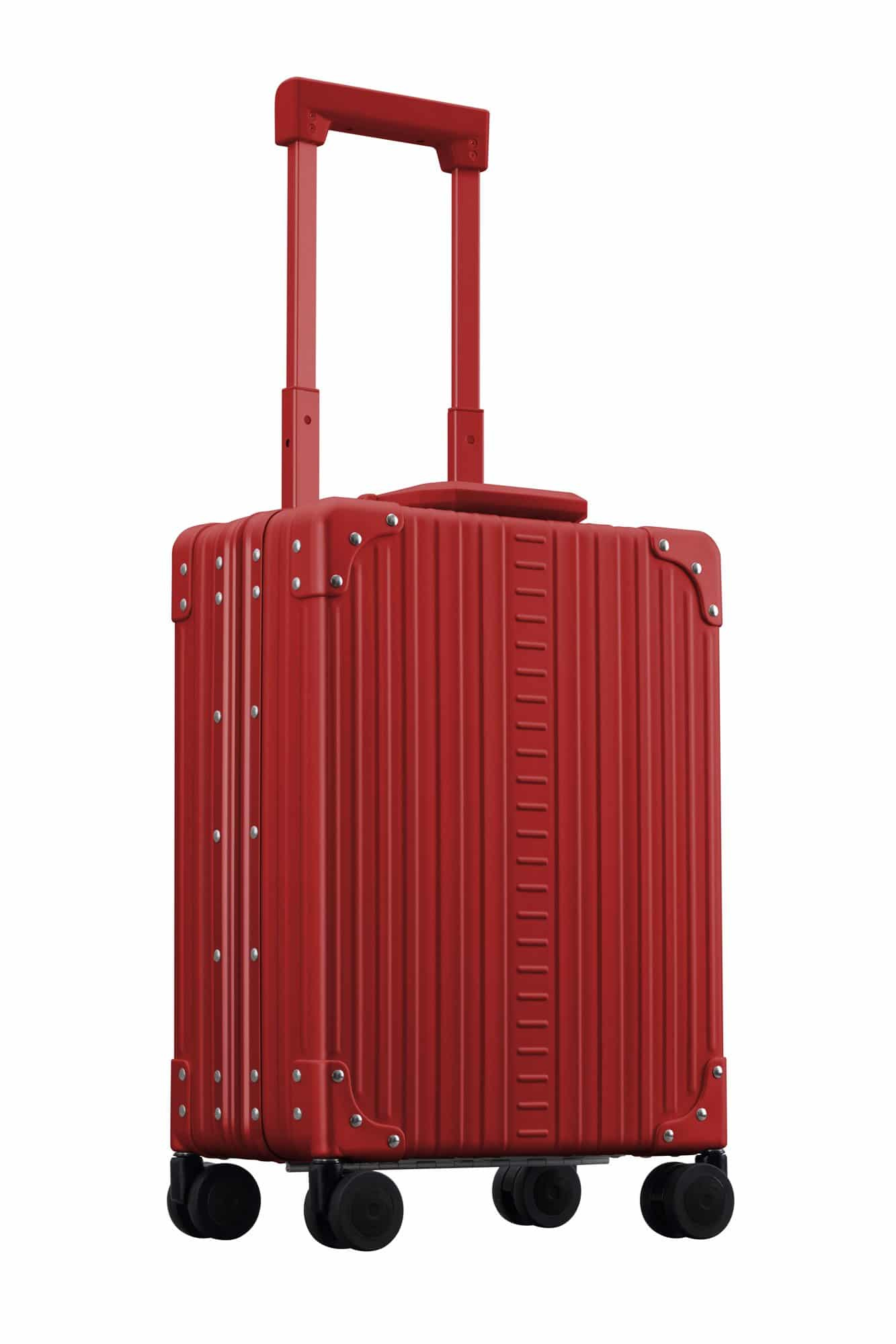Red vertical carry on 20 inch for business travel